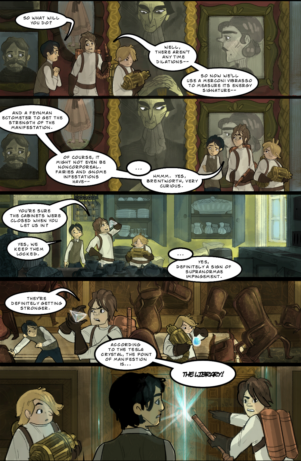 Gothic Ghost Story page 3