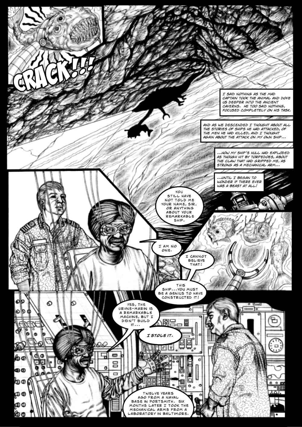 Monster Beneath page 5