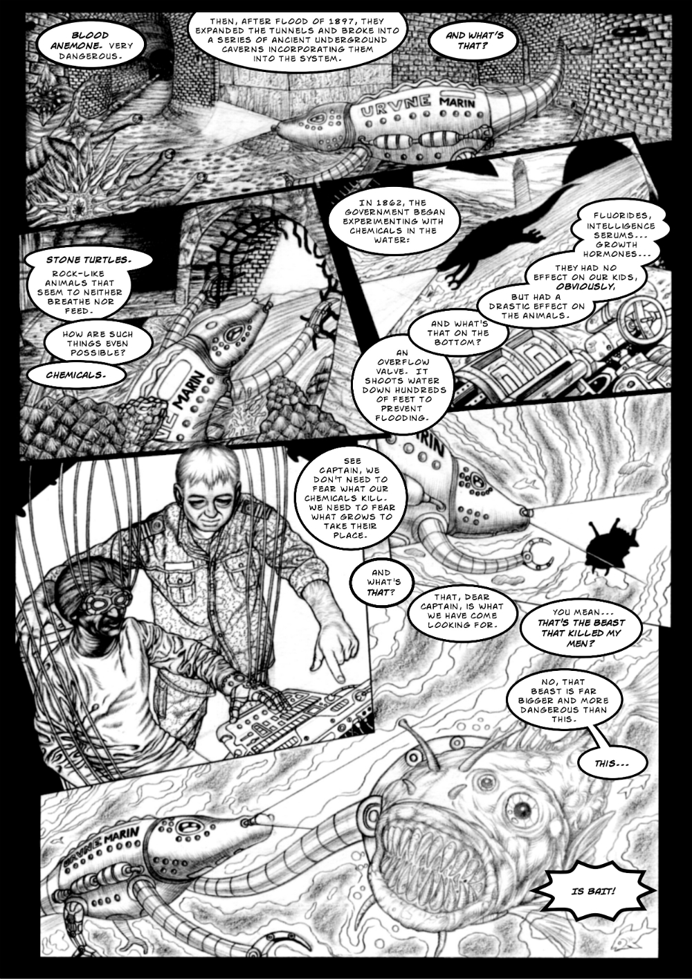 Monster Beneath page 4