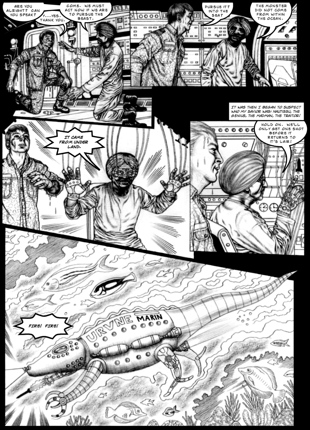 Monster Beneath page 2