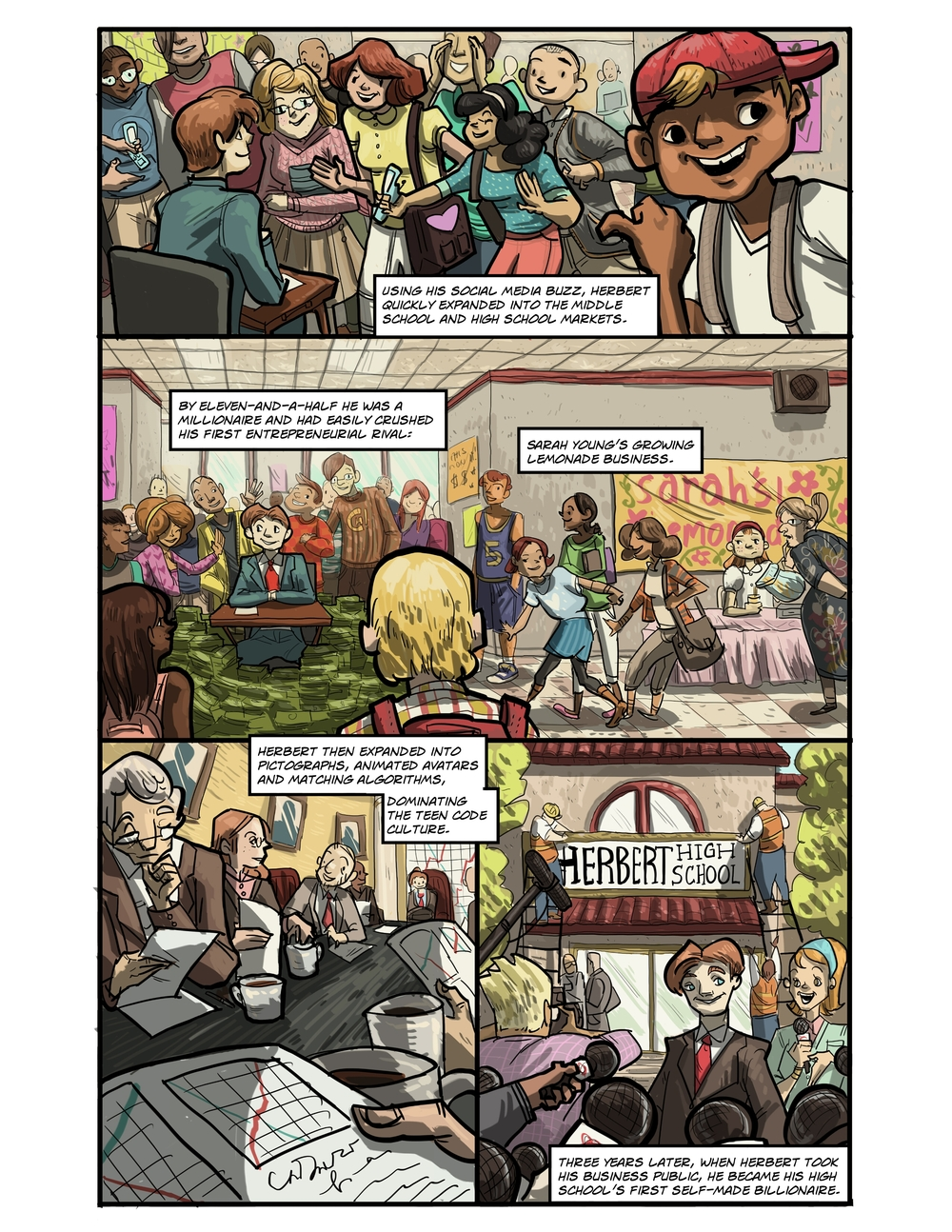 IMAGINARY STRING page 5 - story 20 in The Book of Lies