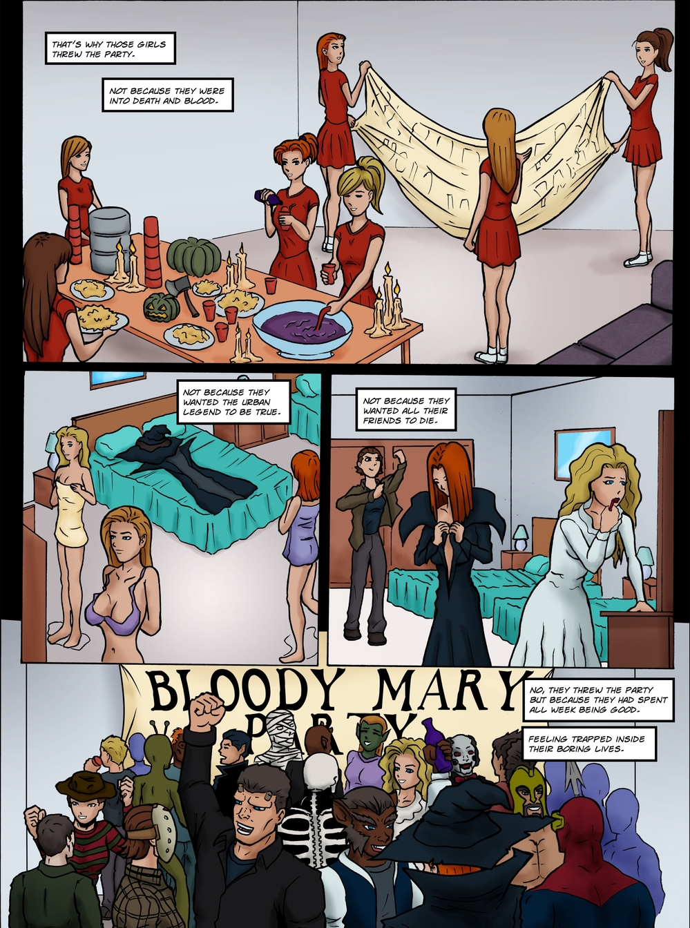 BLOODY MARY page 2 -- story 25 in The Book of Lies