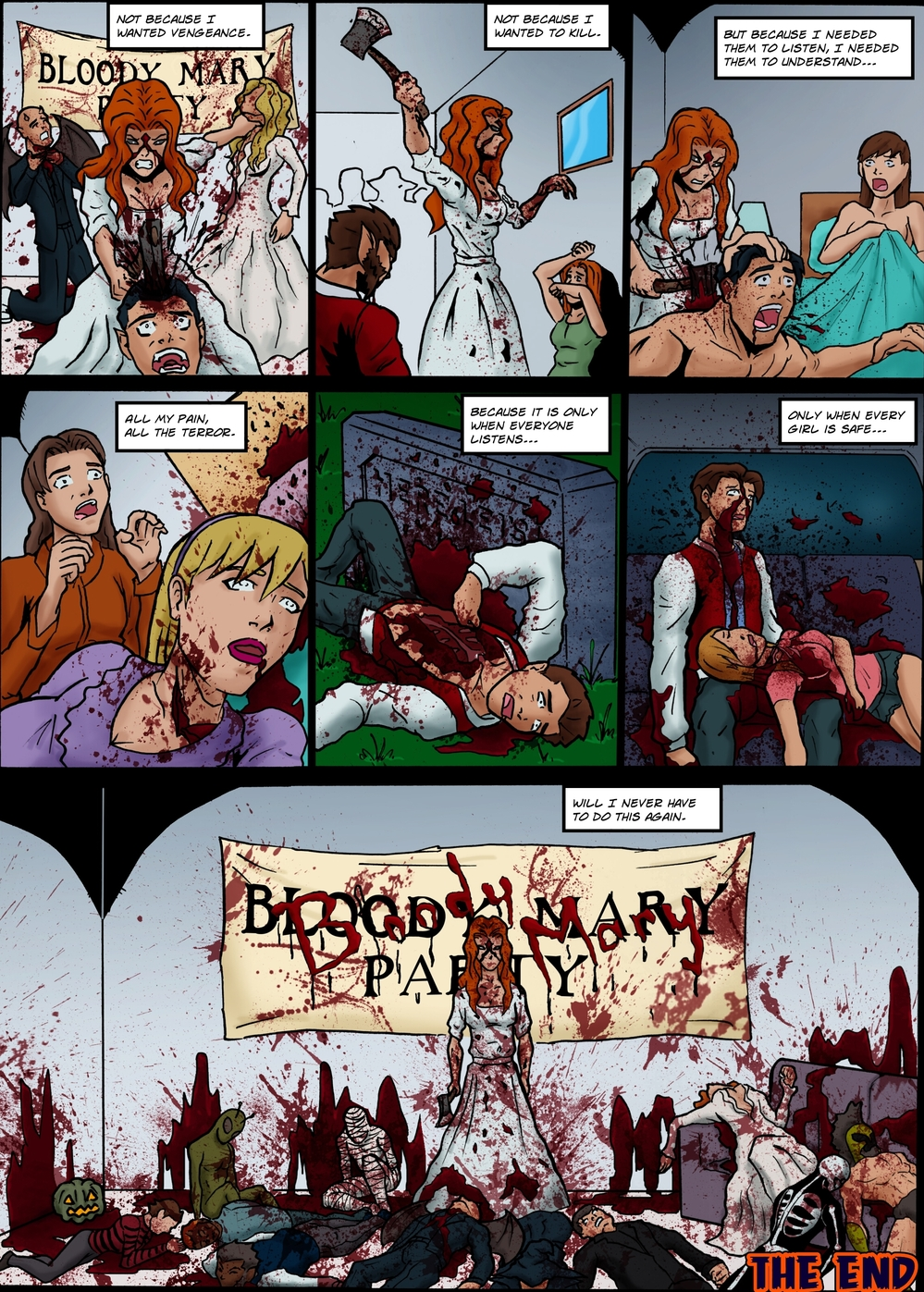 BLOODY MARY page 6 -- story 25 in The Book of Lies