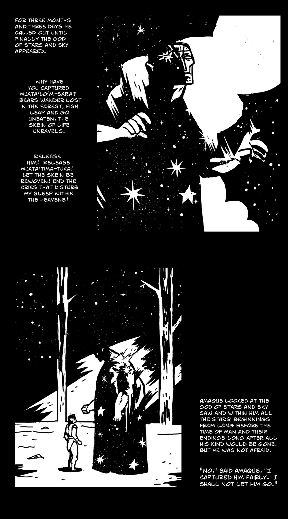 God of All Things pg 7 -- from THE BOOK OF LIES