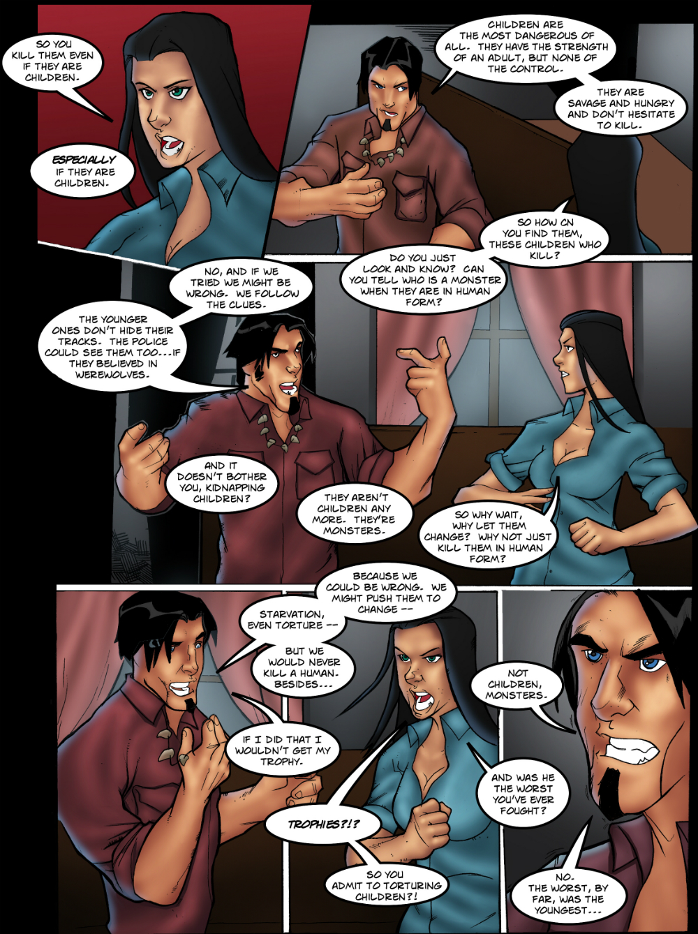TROPHIES page 5 - story 16