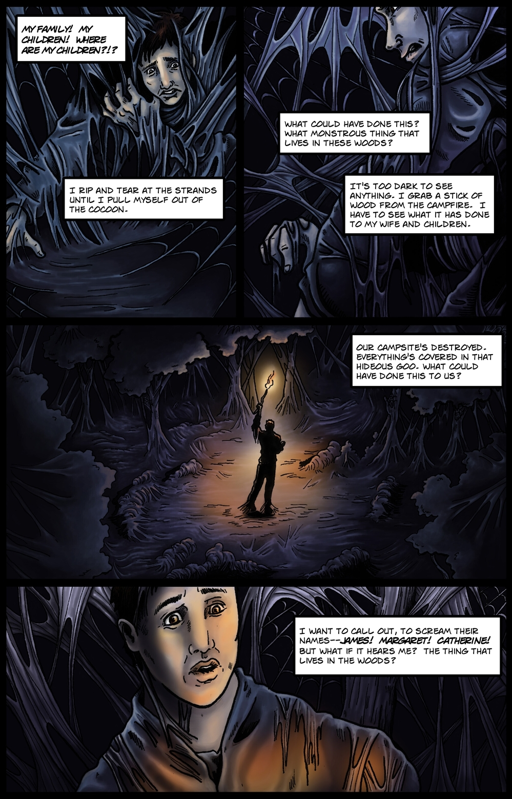 COCOON page 3 - story 9 in The Book of Lies