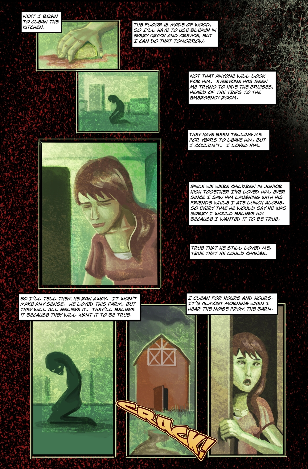BEASTS page 3 - story 5 in The Book of Lies