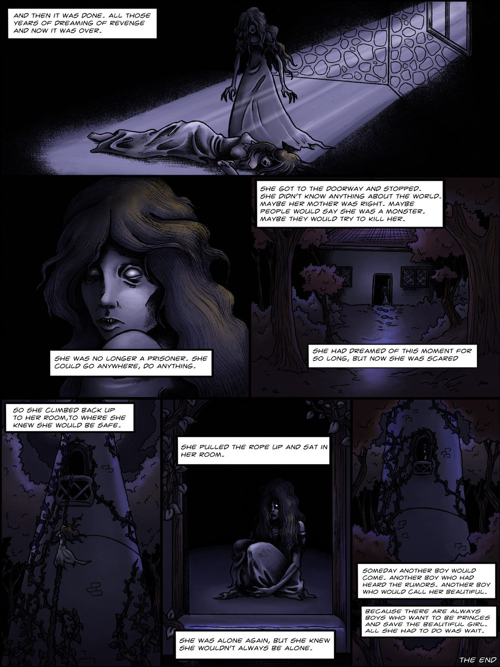 THE TOWER page 7 - story 1 in The Book of Lies