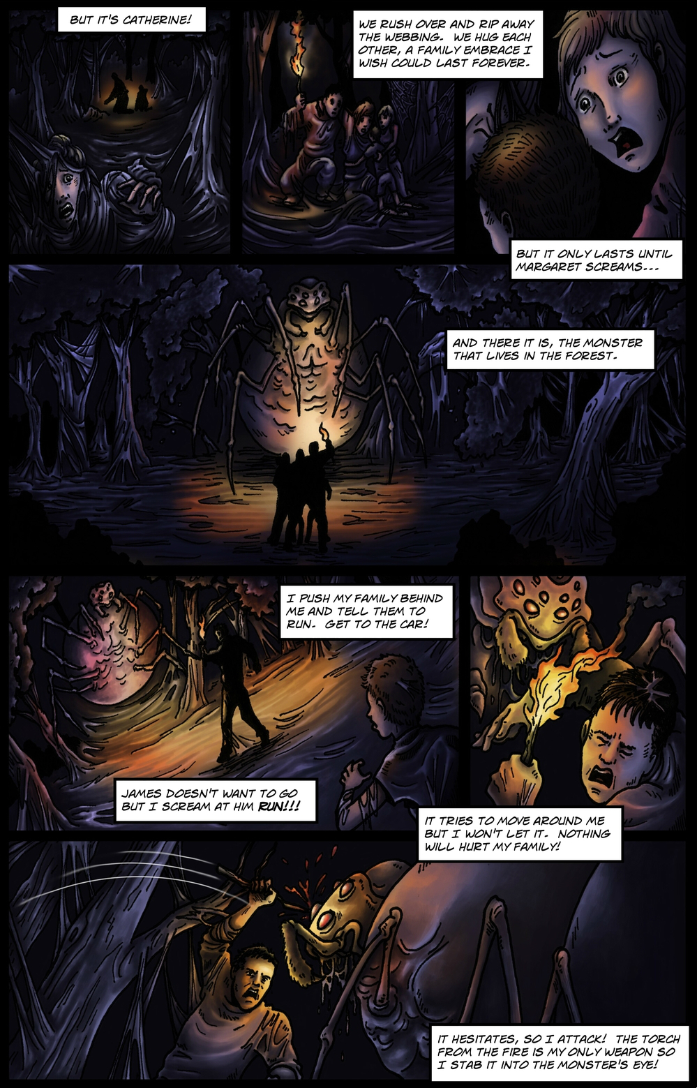 COCOON page 5 - story 9 in The Book of Lies