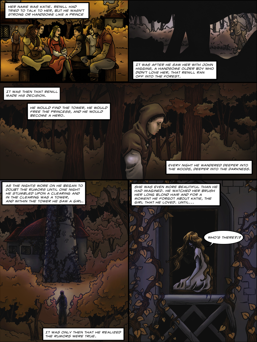 THE TOWER page 4 - story 1 in The Book of Lies