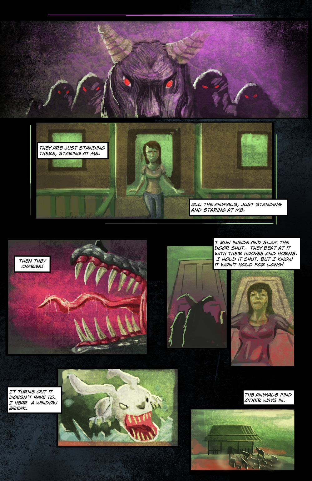 BEASTS page 4 - story 5 in The Book of Lies
