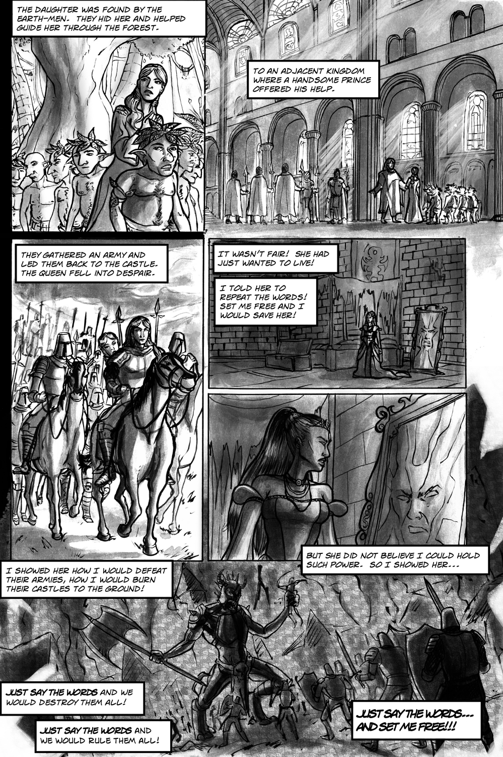 FAIREST page 5 - story 13 in The Book of Lies