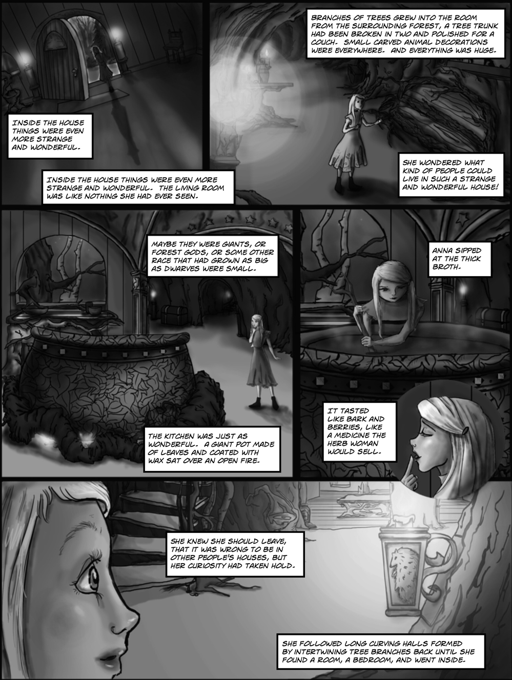 OTHER PEOPLE'S HOUSES page 4 -- in The Book of Lies