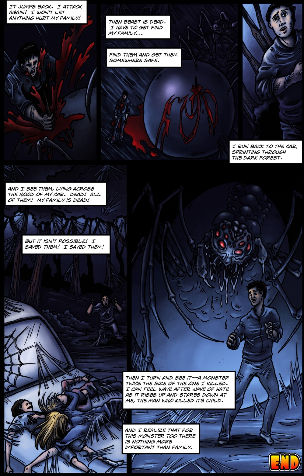 COCOON page 6 - story 9 in The Book of Lies