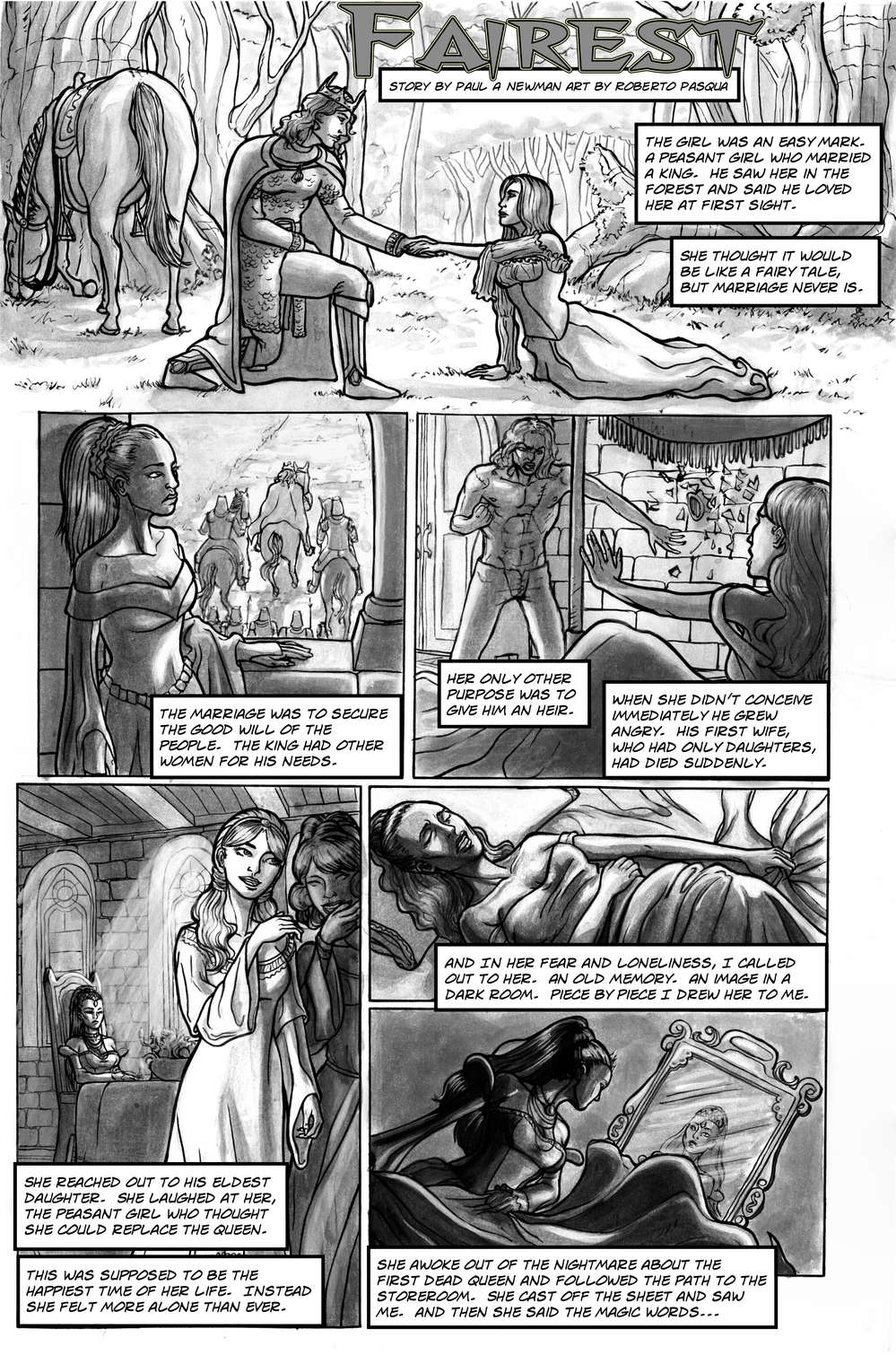 FAIREST page 2 - story 13 in The Book of Lies