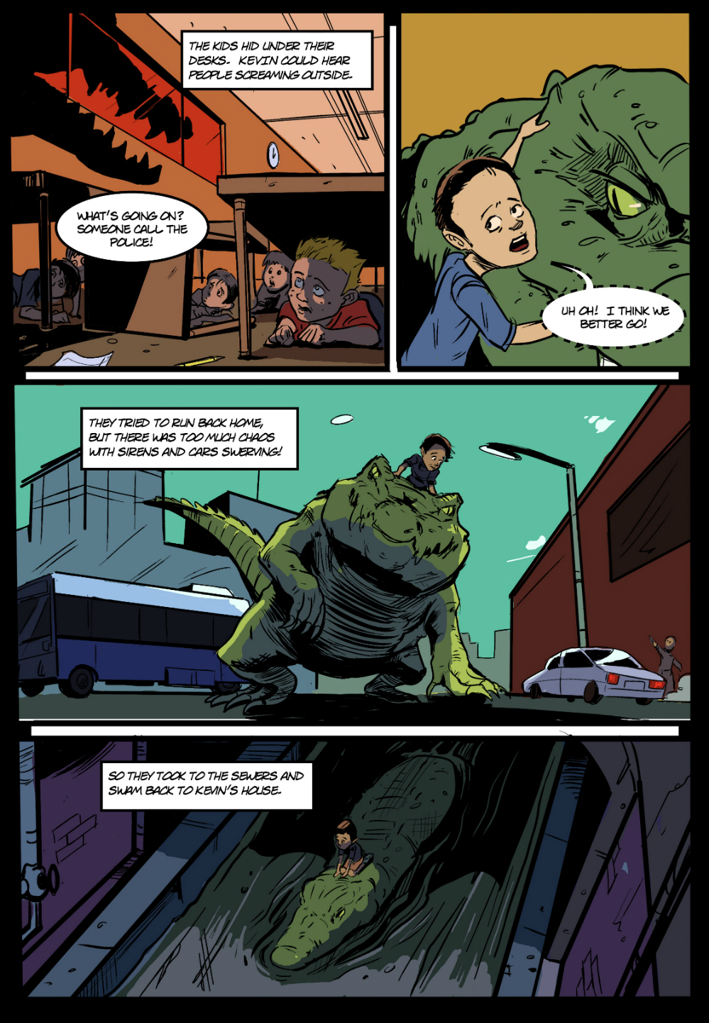 PET CROC page 5 - in The Book of Lies