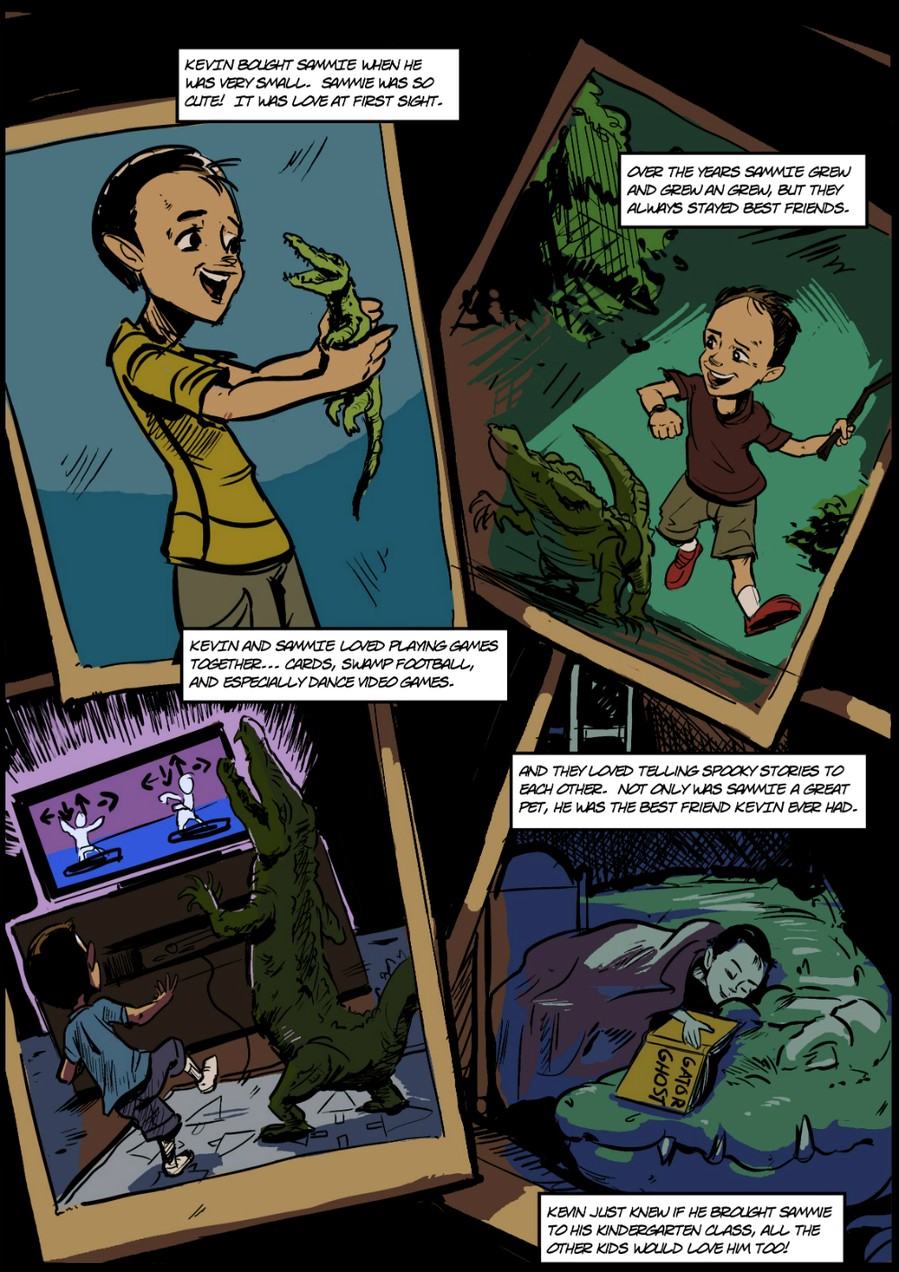 PET CROC page 2 - in The Book of Lies