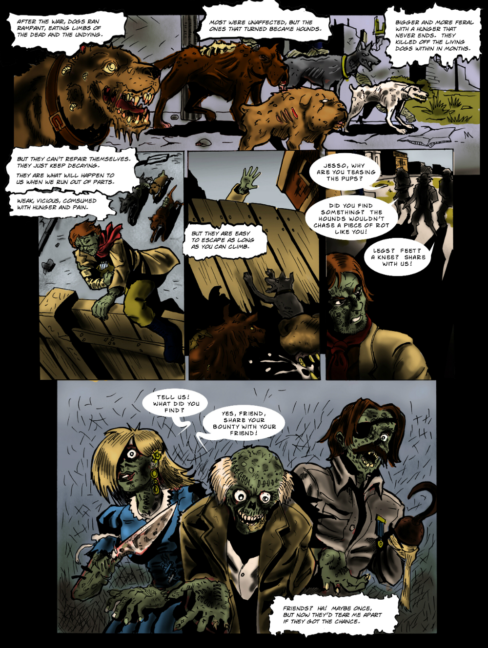 PARTS page 4 -- from THE BOOK OF LIES