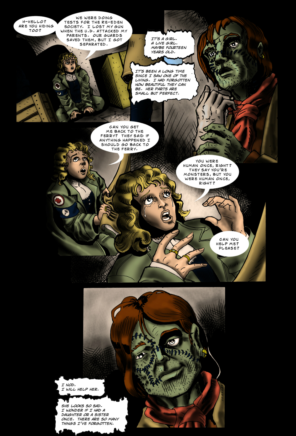 PARTS page 6 -- from THE BOOK OF LIES