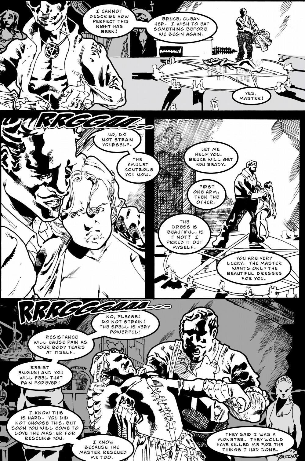 Zombie Love Slave page 5